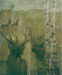 """Mary Roberson Gallery-Wrapped Canvases :""""MULIES"""""""