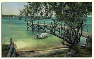"""Tripp Harrison Hand Signed and Numbered Limited Edition Print:""""Keys Whaler """""""