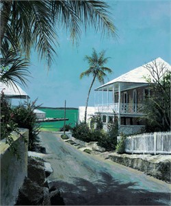 "Tripp Harrison Hand Signed and Numbered Limited Edition Print : ""Verandah"""