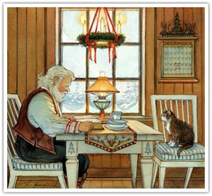 """Trisha Romance Hand Signed and Numbered Limited Edition Giclee:""""A Christmas Prayer"""""""