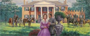 """Mort Kunstler Handsigned and Numbered Limited Edition Print:""""Duty, Honor and Tears"""""""