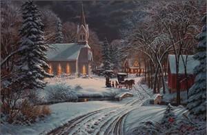 "Mark Keathley Handsigned & Numbered Limited Edition Embellished Giclee on Canvas: ""Heavenly Light"""