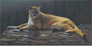 "Daniel Smith Handsigned and Numbered Limited Edition Giclee Print: ""Radiant Repose"""