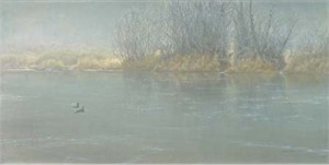 "Robert Bateman Handsigned & Numbered Limited Edition:""High Water - Mallard Pair"""