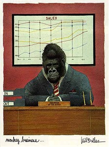 """Will Bullas Fine Art Limited Edition Paper :""""Monkey Business"""""""