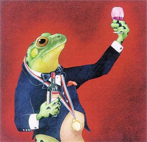"""Will Bullas Fine Art Signed Open Edition Paper :""""The Sommelier"""""""
