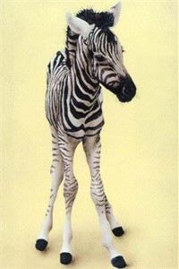 "Will Bullas Fine Art Signed Open Edition Paper :""Stripes on Stilts"""