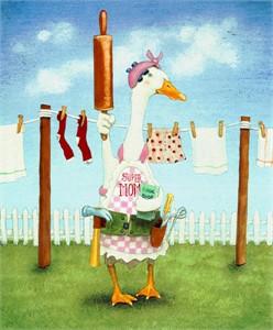 """Will Bullas Fine Art Limited Edition Paper :""""Supermom"""""""