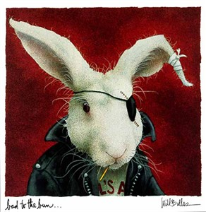 "Will Bullas Fine Art Limited Edition Paper :""Bad to the Bun"""