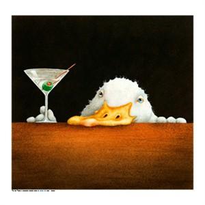 """Will Bullas Fine Art Signed Open Edition Canvas :""""Bar Bill"""""""
