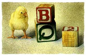 """Will Bullas Fine Art Limited Edition Paper :""""A Chick Off the Old Blocks"""""""