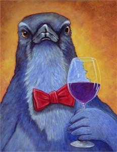 "Will Bullas Fine Art Open Edition Canvas :""Jay Sirah, Sirah"""