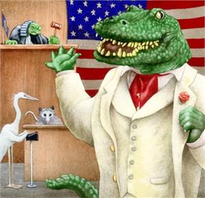 """Will Bullas Fine Art Open Edition Canvas :""""The Litigator"""""""