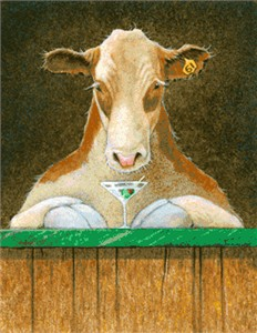 """Will Bullas Fine Art Signed Open Edition Canvas :""""Now Serving Number 61"""""""