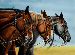 """Shannon Lawlor Handsigned and Numbered Giclee On Paper Edition: """"Bits Of Knowledge"""""""