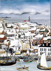 """Will Moses Handsigned & Numbered Limited Edition:"""" Lighthouse Point"""""""