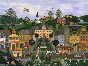 "Wooster Scott Hand Signed and Numbered Limited Edition Artist Proof Giclee Canvas: ""Where Dreams Come True"""