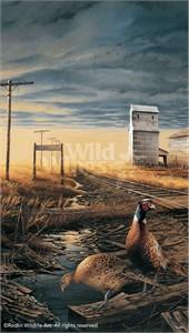 "Terry Redlin Open Edition: ""Prairie Skyline Pinnacle Print"""