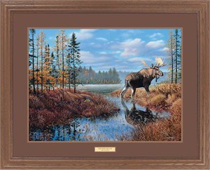 "Jim Kasper Great Northern Art Open Edition Framed Art Print:""The Prize"""
