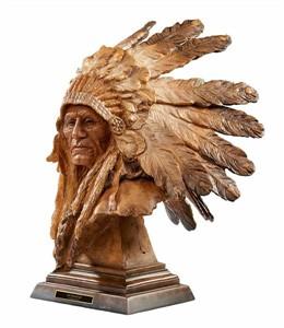 "Stephen Herrero Sculpture:""An Honored Life"""