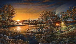 """Terry Redlin Handsigned and Numbered Limited Edition Print:""""Basic Training"""""""