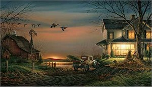 """Terry Redlin Handsigned and Numbered Limited Edition AP Print:""""Special Memories"""""""