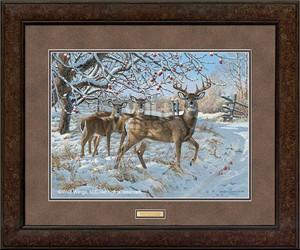 "Persis Clayton Weirs Premium Framed Print:""November Snowfall"""