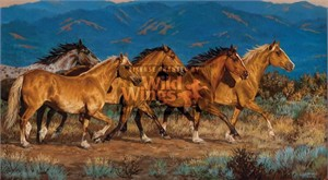 """Chris Cummings Hand Signed and Numbered Limited Edition Print: """"Band of Gold"""""""