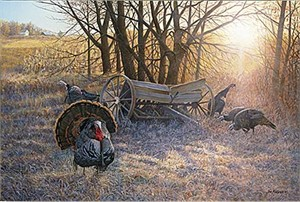 "Jim Kasper Limited Edition Print:""Planter Rendezvous """