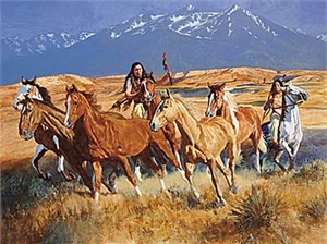 """Daryl Poulin Limited Edition Print:""""The Gathering"""""""