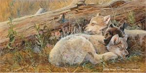"""Valeria Yost Original Acrylic Painting:""""Winken Blinken and Nod"""""""