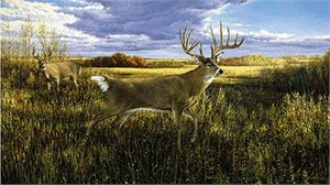 "Ron Van Gilder Limited Edition Print:""The Hanson Buck"""