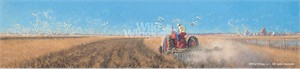 "Michael Sieve Hand Signed and Numbered Limited Edition:""Preparing the Land – Farmall"""