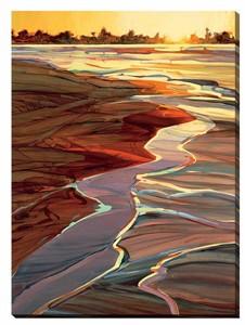 """Dan Wiemer Oversize Gallery Wrap Canvas Art:""""A New Day """""""