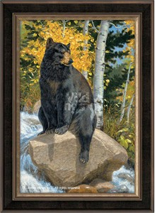 "Lee Kromschroeder Hand Signed and Numbered Premiere Limited Edition: ""The Paws That Refreshes (Canvas) """