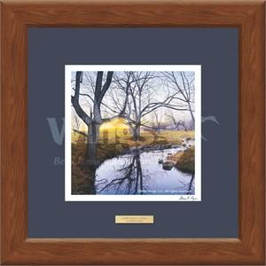 "Steven R. Kozar Designer Framed Print:""Deep Reflections"""