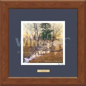 """Steven R. Kozar Designer Framed Print:""""Sunrise Creek Print"""""""