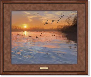 "Scot Storm Handsigned and Numbered Limited Edition: ""Framed End of a Great Day"""