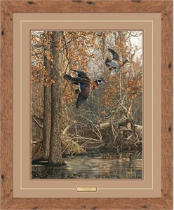 """Scot Storm Handsigned and Numbered Limited Edition: """"Framed LaGrue Woodies"""""""