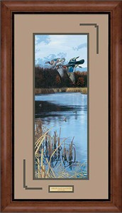 "Scot Storm Handsigned and Numbered Limited Edition: ""Framed Over the Decoys"""