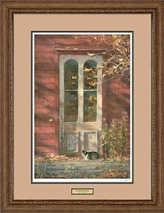 "Robert K. Abbett Handsigned and Numbered Limited Edition: ""Framed October Morning Print"""