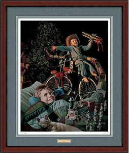 "Bob Byerley Handsigned and Numbered Limited Edition: ""Framed A Thousand Hours 'Till Morning"""