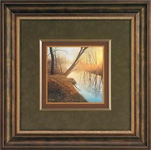 """Steven R. Kozar Handsigned and Numbered Limited Edition: """"Designer Framed Morning Solitude Print"""""""