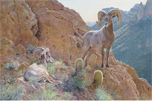 """Jim Kasper Handsigned and Numbered Limited Edition Canvas Giclee: """"The Overseer"""""""