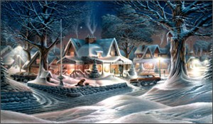 """Terry Redlin American Portrait Limited Edition: Heartfelt Firsts - """"His Last Good-Bye"""""""