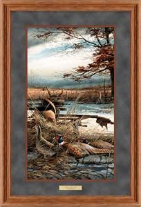 "Terry Redlin Framed Deluxe Open Edition Pinnacle Print: ""Rusty Refuge II """