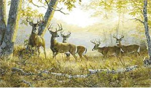 """Persis Clayton Weirs Limited Edition Print: """"Dream Team-Summers End"""""""