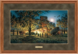 "Terry Redlin Deluxe Framed Elite Edition: ""Bountiful Harvest Elite"""