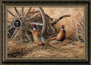 """Rosemary Millette Signed and sequentially numbered Framed Oversize Studio Canvas:""""Autumn Glow"""""""