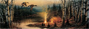 "Terry Redlin Open  Edition Horizions Collection Print:""Twilight Glow"""